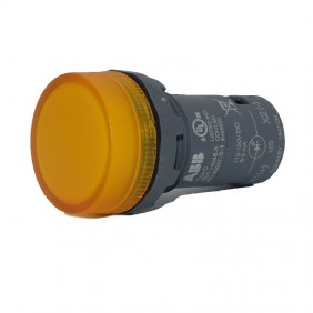 Lamp Indicator ABB CL2-515Y with integrated LED Yellow 110-130V CL2515Y