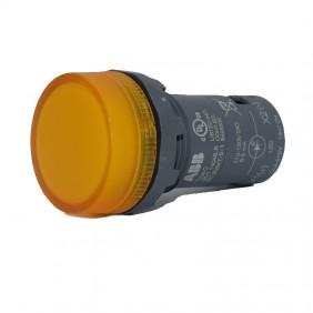 Lampada Spia ABB CL2-515Y con LED integrato Giallo 110-130V CL2515Y