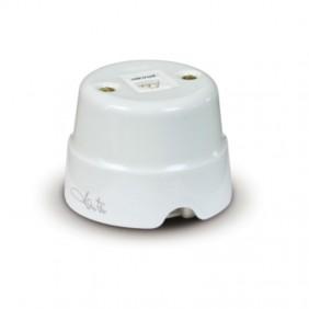 Presa telefonica in ceramica Fanton PLUG 6/6 Coppie 84016