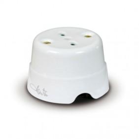 Fanton 2P+E 10/16A two-pin ceramic socket 84010