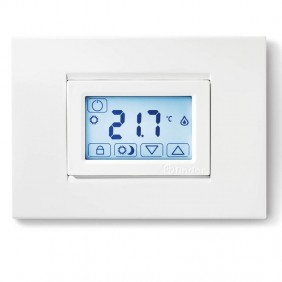 Finder built-in white backlit touch thermostat...