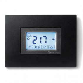 Termostato Finder a incasso per 503 Touch Screen Nero 1T5190032000