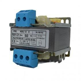 Trasformatore di isolamento CTA monofase 500VA 400V/115-0-115 TMI4K0.50