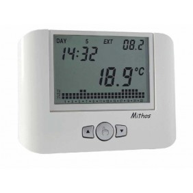 Vemer programmable Thermostat wall-mounted SERIES White VE328100