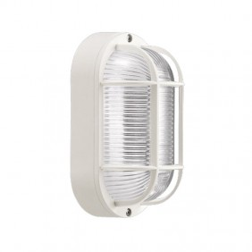 Ceiling light Lombard turtle white E27 60W IP44 LB44121