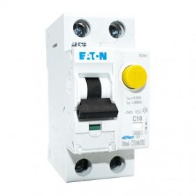 Residual current circuit breaker Eaton MD1N10 10A 1P+N 30MA AC 6K 177798