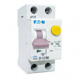 Magnetotermico Differenziale Eaton MD1N32 32A 1P+N 0,03 AC 4,5KW 237161