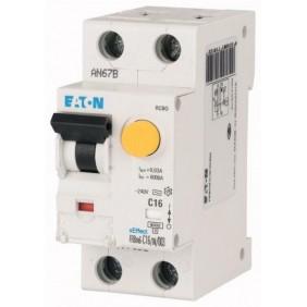 Residual current circuit breaker Eaton MD1N25 25A 1P+N 30M 'AC' 6 177800