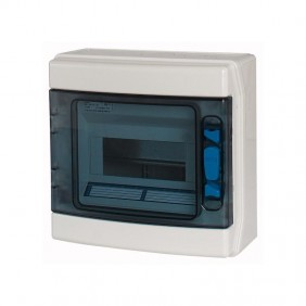 Centralino a Parete Eaton IKA 8 Moduli IP65 porta trasparente 174205