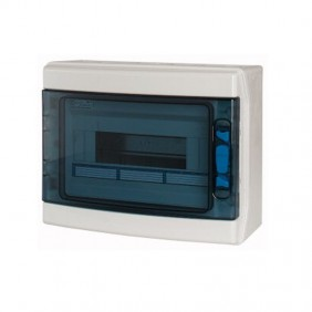 Un Mur standard Eaton IKA 12 modules IP65 porte transparente 174206