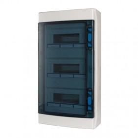 Eaton IKA 36 modules IP65 wall-mounted switchboard in 3 rows 174208