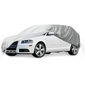 Tarpaulin car covers LARGE waterproof Gray 15327