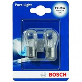 Bombillas de Bosch P21/5W de doble filamento para la parada automática 1194