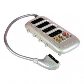 Multiscart Melchioni con 4 conectores Scart y 6 Rca 149029017
