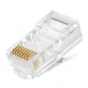 RJ45 Plug Orca 8 positions not shielded UTP cable Cat 5E 232122-01