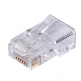 Plug RJ45 Orca 8 posizioni schermato FTP per cavo Cat 6 233212-01