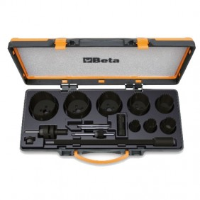 Set of hole Saws Beta for electricians in box metal 004500313