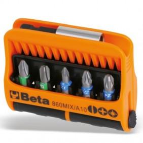 Conjunto de 10 insertos Beta con soporte en el bolsillo de la bolsa de 008600900