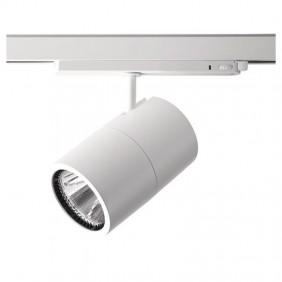 Proiettore Led Side per binario 27W 3000K Bianco 67335-LBC-40