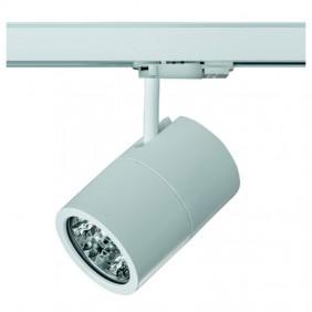 Proiettore Led Side per binario 24,4W 4000K Bianco 67330-LBN-40