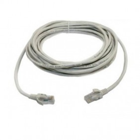 Cable patch Orca UTP CAT6 0,5 M, de color gris claro 223140-A0