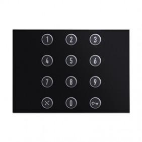 Module Numeric Keypad Urmet Alpha Black 1168/46