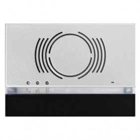 Frontalino Urmet Alpha per posto esterno audio Nero 1168/130