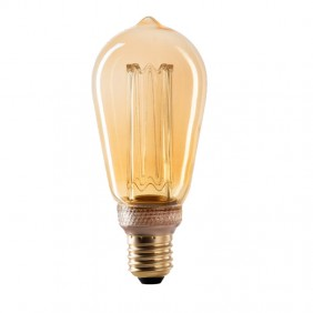 LED lamp Wiva ST64 2.5 W E27 2000K ANTIQUE 12100633