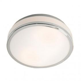 Plafoniera Redo MOON da parete con vetro opale bianco 01-543