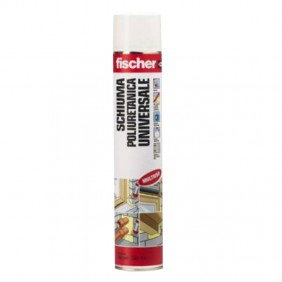 Schiuma poliuretana Fischer 1K manuale 750 ml...
