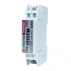 Compteur d'énergie monophasé Asita 1 Din module EMS30C