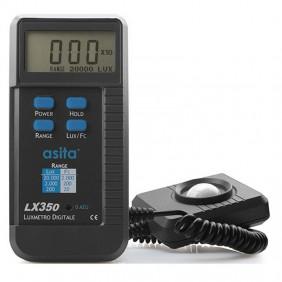 The lux meter handheld digital Asita LX350