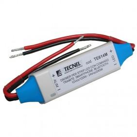 Dimmer Tecnel Bluetooth per strip led 12/24V TE614M