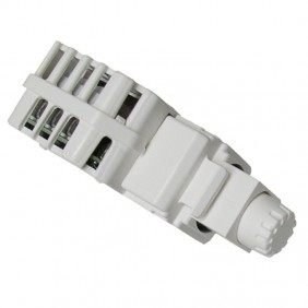 Dimmer Tecnel 1-10vdc switch 10A Keystone White...