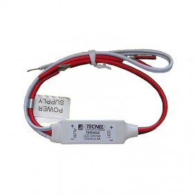 Dimmer Tecnel per Strip LED comando a Pulsanti IP40 TER4042