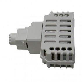 Dimmer Tecnel con deviatore per lampade a LED Keystone Grigia TE44895G