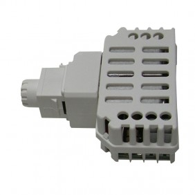 Dimmer Tecnel, with switch for LED lamps Keystone Gray TE44895G