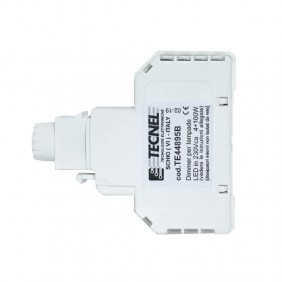Dimmer Tecnel, with switch for LED lamps Keystone White TE44895B