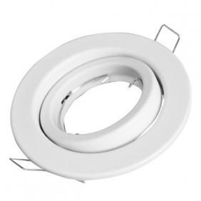 Faretto ad incasso Nobile orientabile GU10 bianco 4112/H/BI