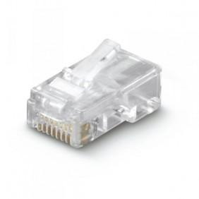 Plug Rj45 F/UTP 8/8c Gato. 6 no blindado 60153-00