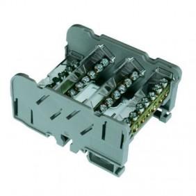 Terminal block distribution Cabur QBLOK4P125A11 125A 4 Pole QBLOK4125