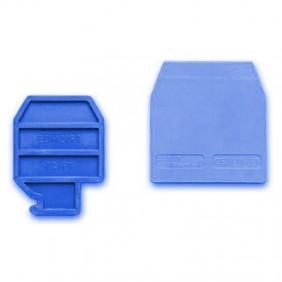 Plate terminal Cabur to clamp the CBD.4 Blue CBX25
