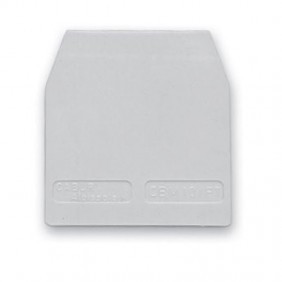 Plaque terminale Cabur pour la fixation de la SRC.16/PT/GR CB161GR