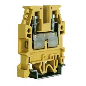 Morsetto passante standard Cabur 6mmq Beige CB340