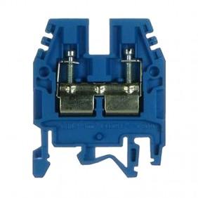 Clamp standard through-Cabur 4mmq Blue CBX24