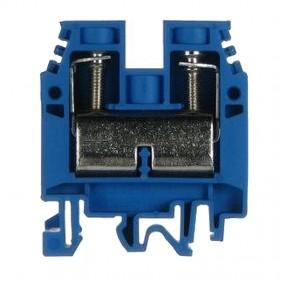 Clamp standard through-Cabur 35mmq Blue CBX62