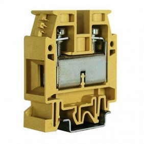 Clamp standard through-Cabur 25-35mmq Beige CB610