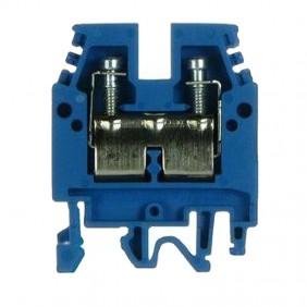 Clamp standard through-Cabur 2,5 mmq Blue CBX12