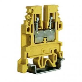 Morsetto passante standard Cabur 2,5mmq Beige CB110