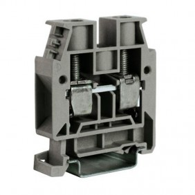 Clamp standard through-Cabur 25mmq Grey CBC16GR